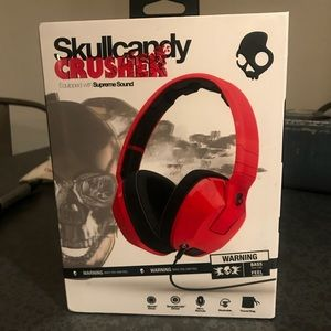 Accessories - Skullcandy Ceusher Headphones